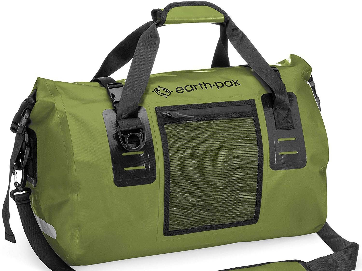 earth pack waterproof duffel bag