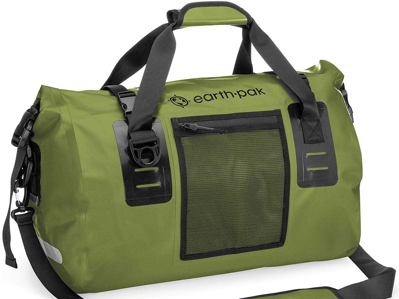 earth pack waterproof duffel bag