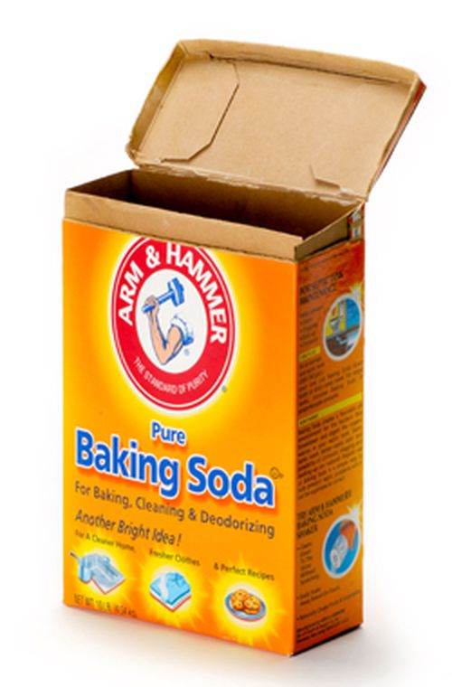 Baking soda can be a handy scent control system.