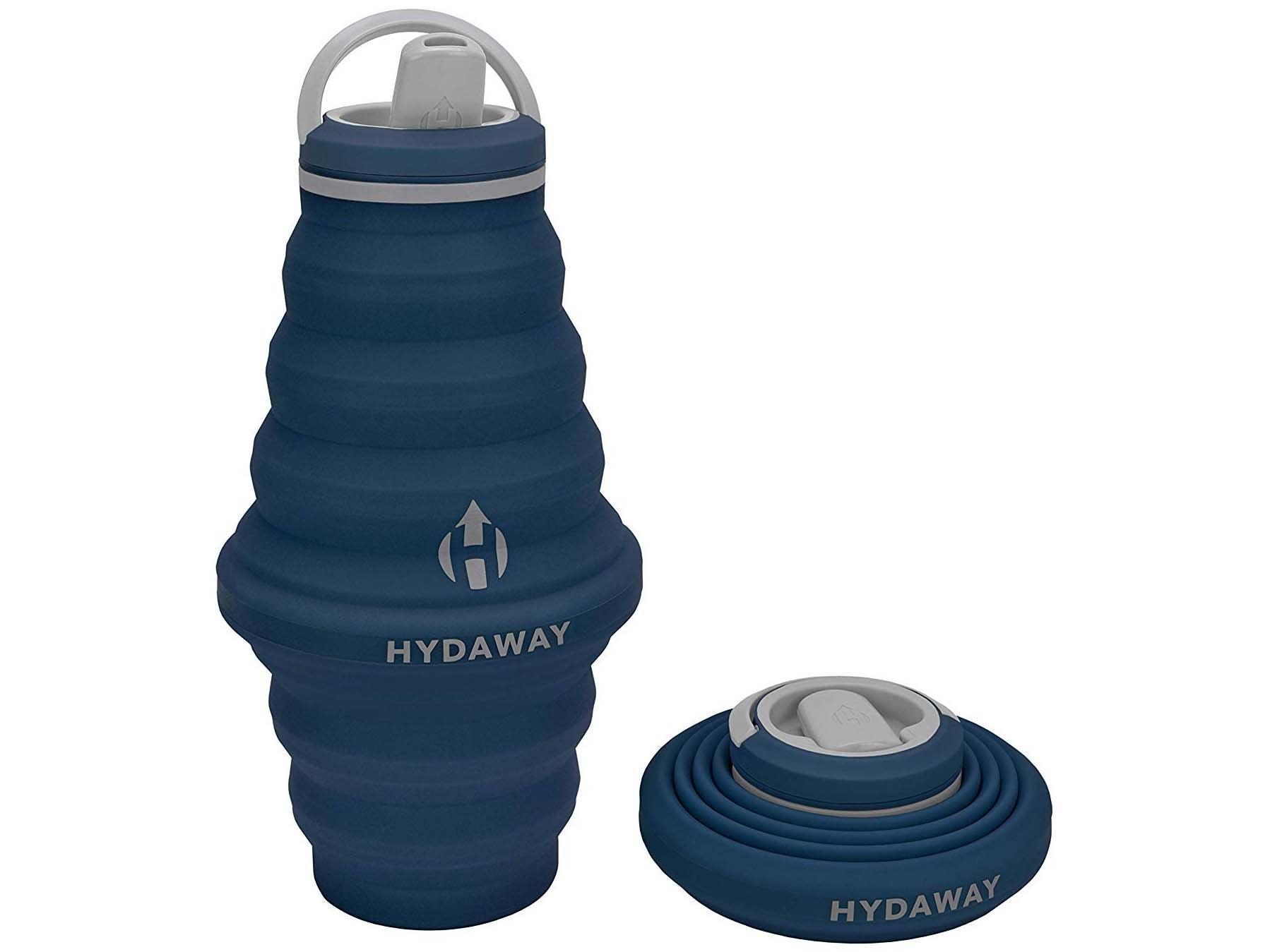 HYDAWAY Collapsible Water Bottle, 25 oz Spout Lid