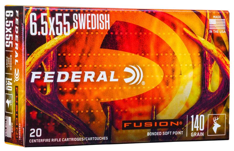federal premium 6.5 fusion bonded soft point
