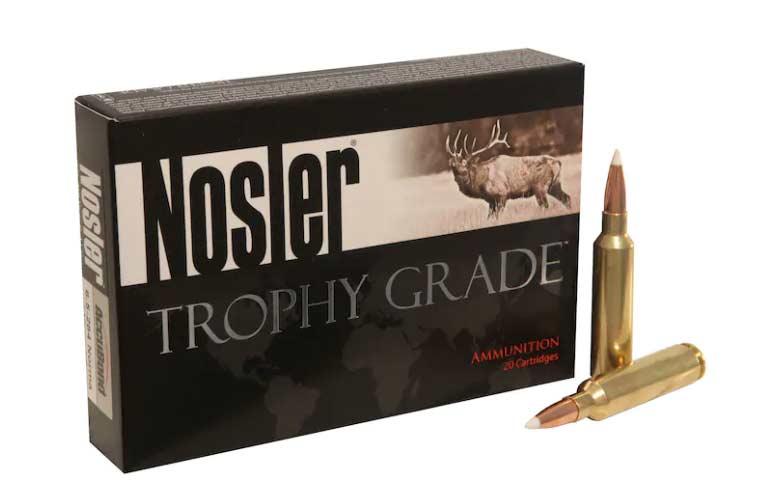 Nosler Trophy 140-grain AccuBond