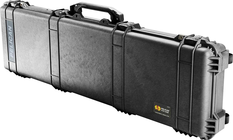 Pelican 1750 Rifle Case With Foam (Black)