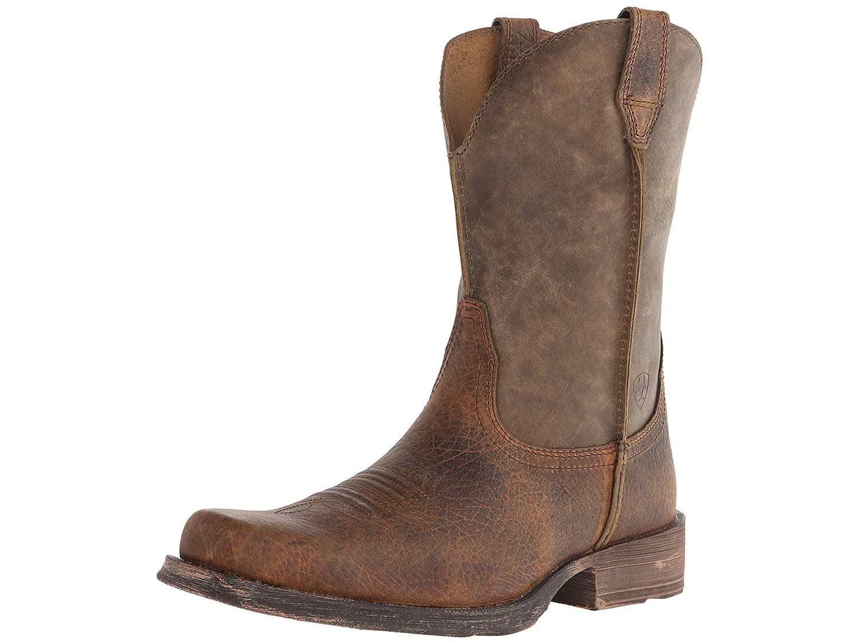 ariat mens rambler western boot