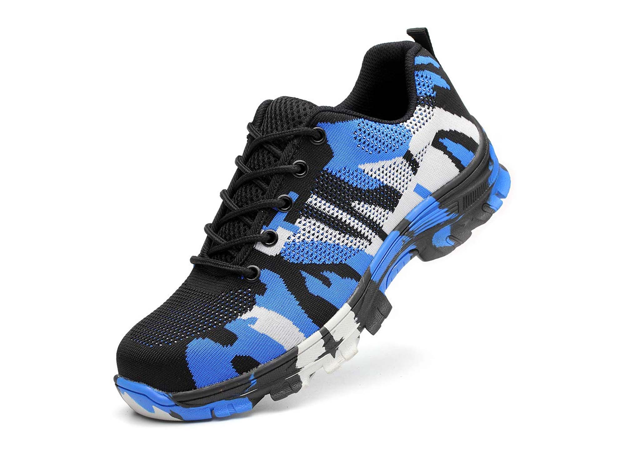 Ticcoon steel toe camouflage sneaker