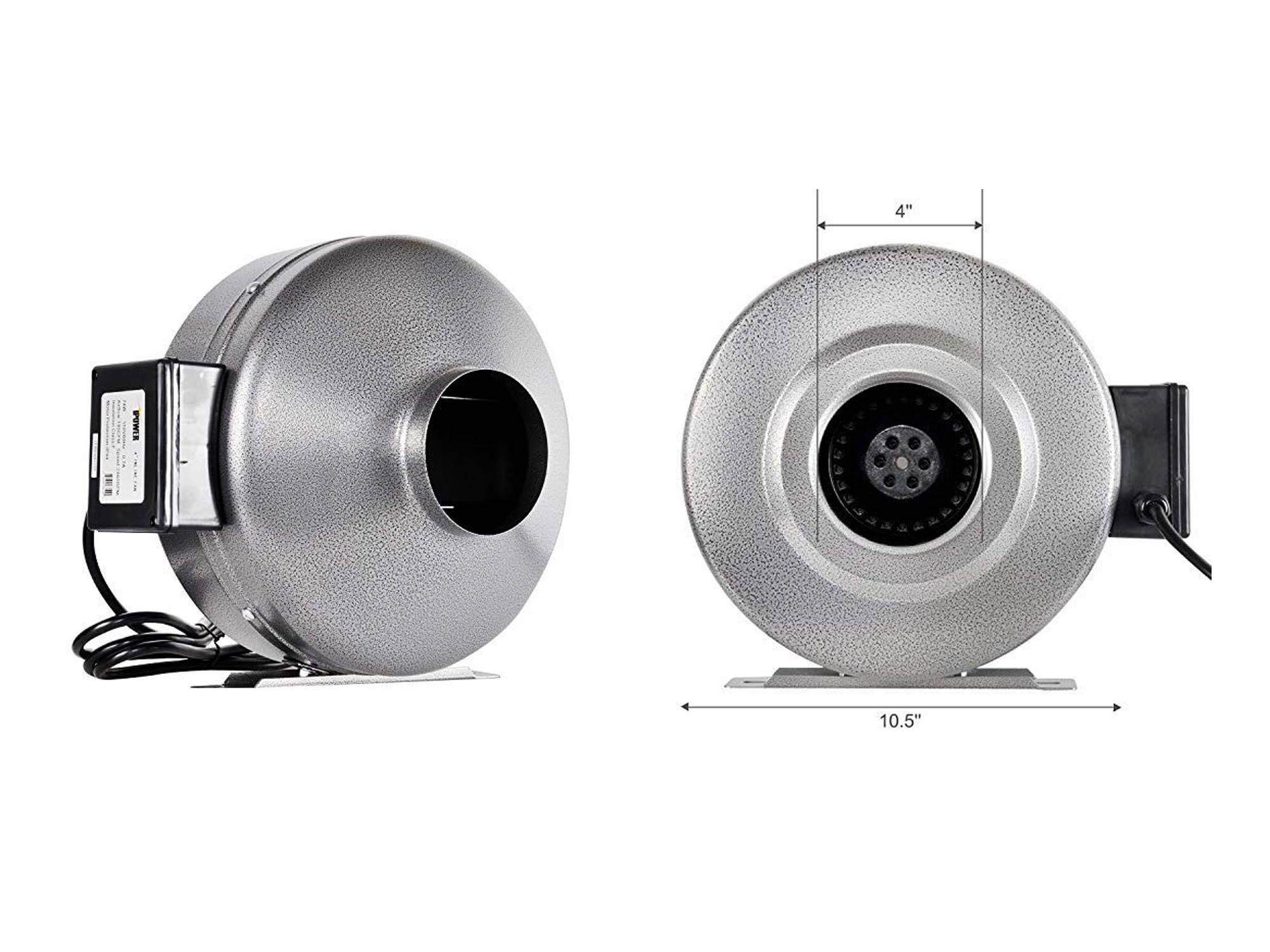silver blower fan by ipower