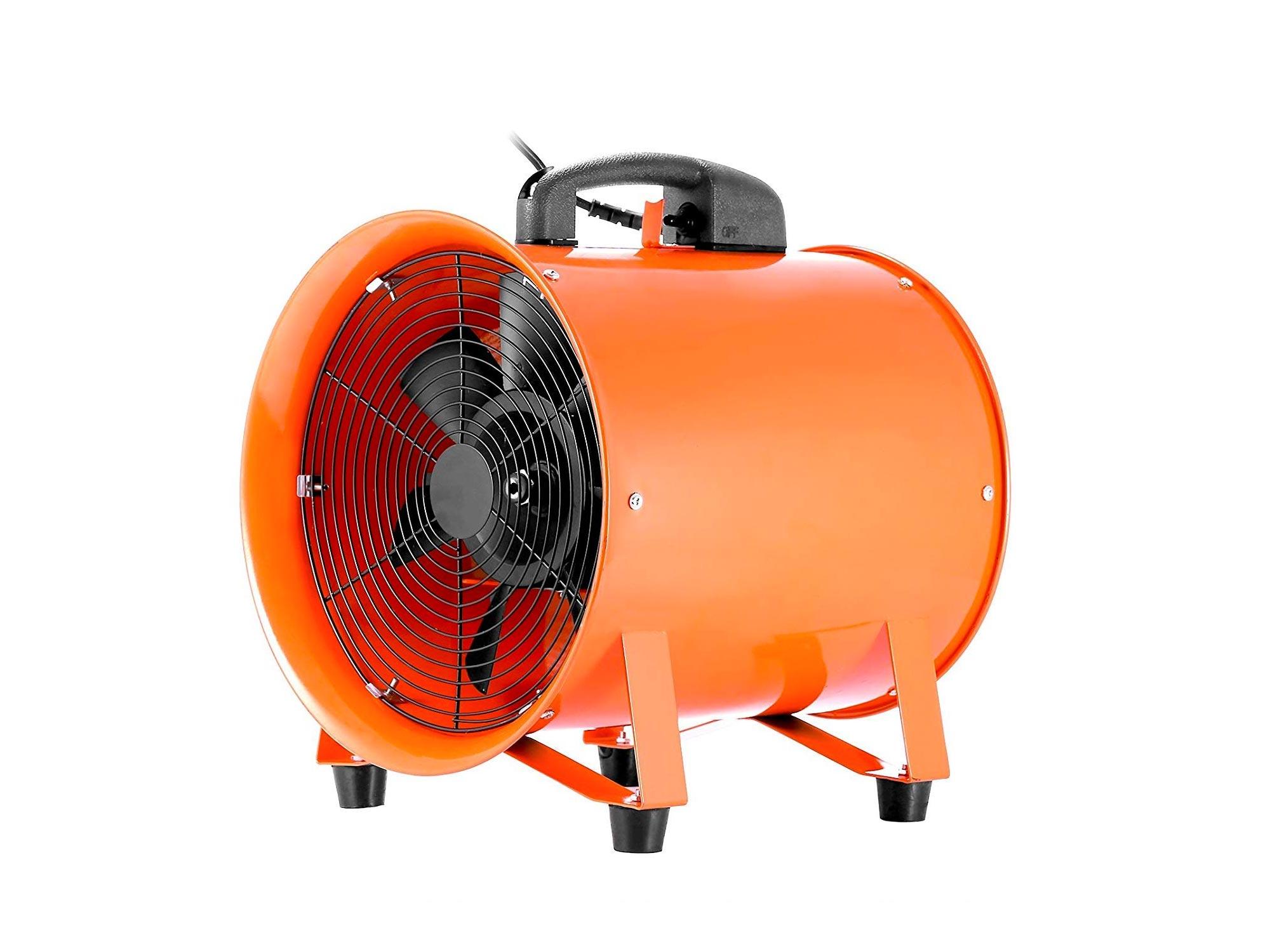 OrangeA utility fan