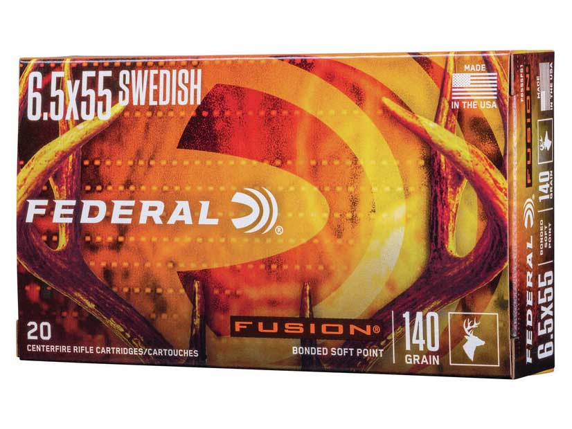 6.5x55 Swede ammo