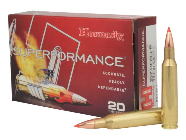 hornady 257 roberts ammunition