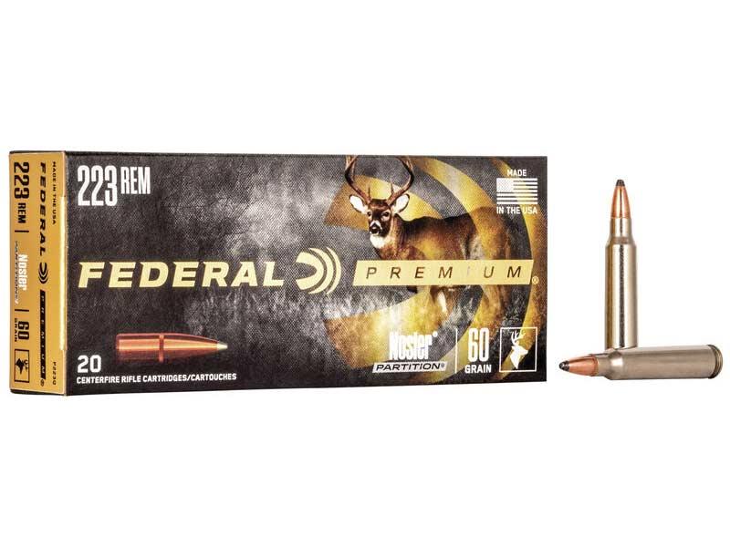 223 remington nosler partition