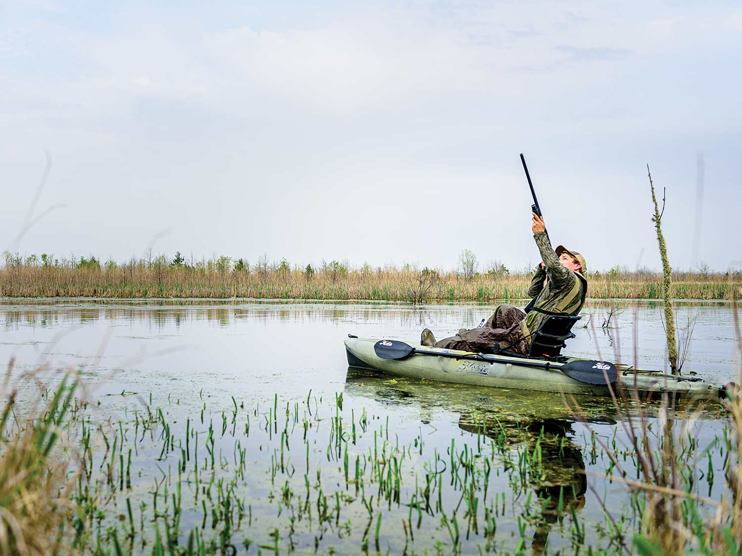 How to Hunt Public Land Ducks from a Kayak
