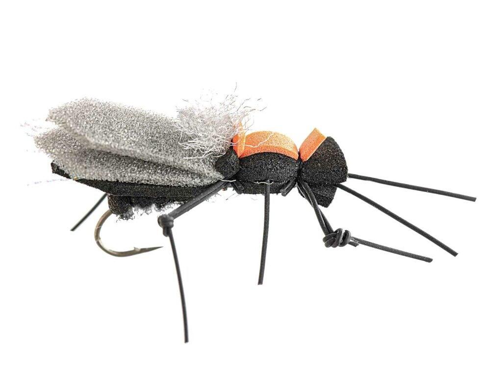 a caddisfly fly fishing lure