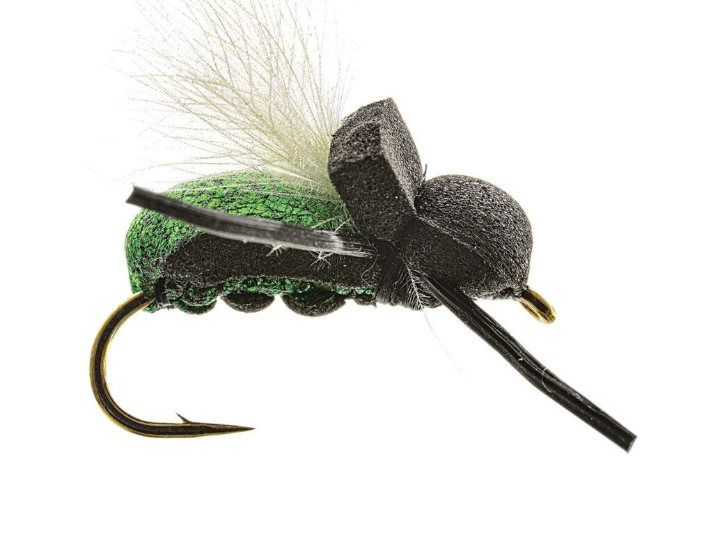 tims beetle fly fishing lure