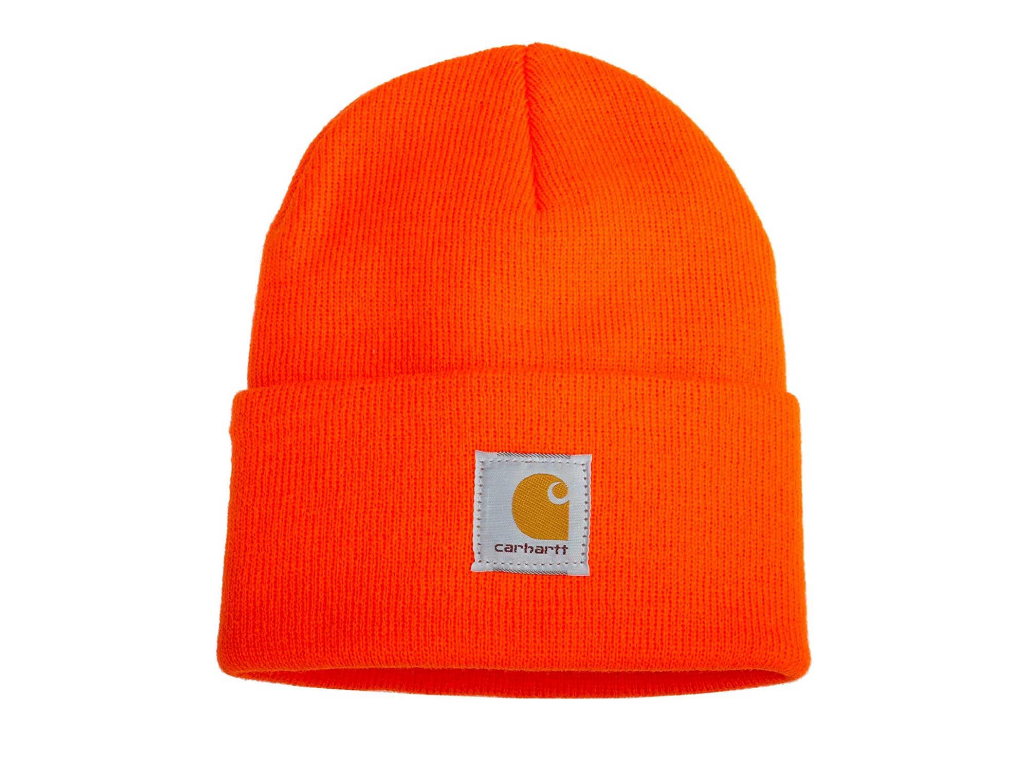 Carhartt orange hunting hat