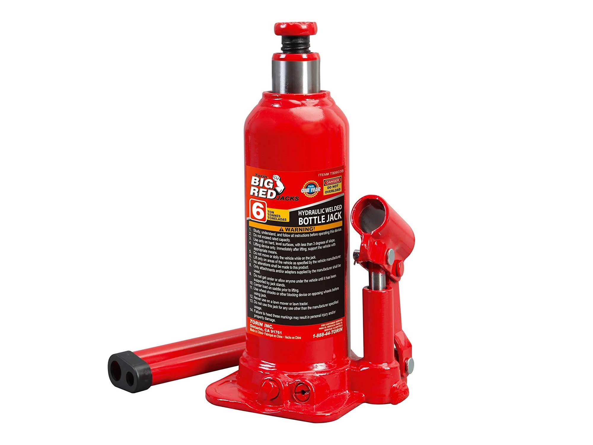 BIG RED T90603B Torin Hydraulic Welded Bottle Jack