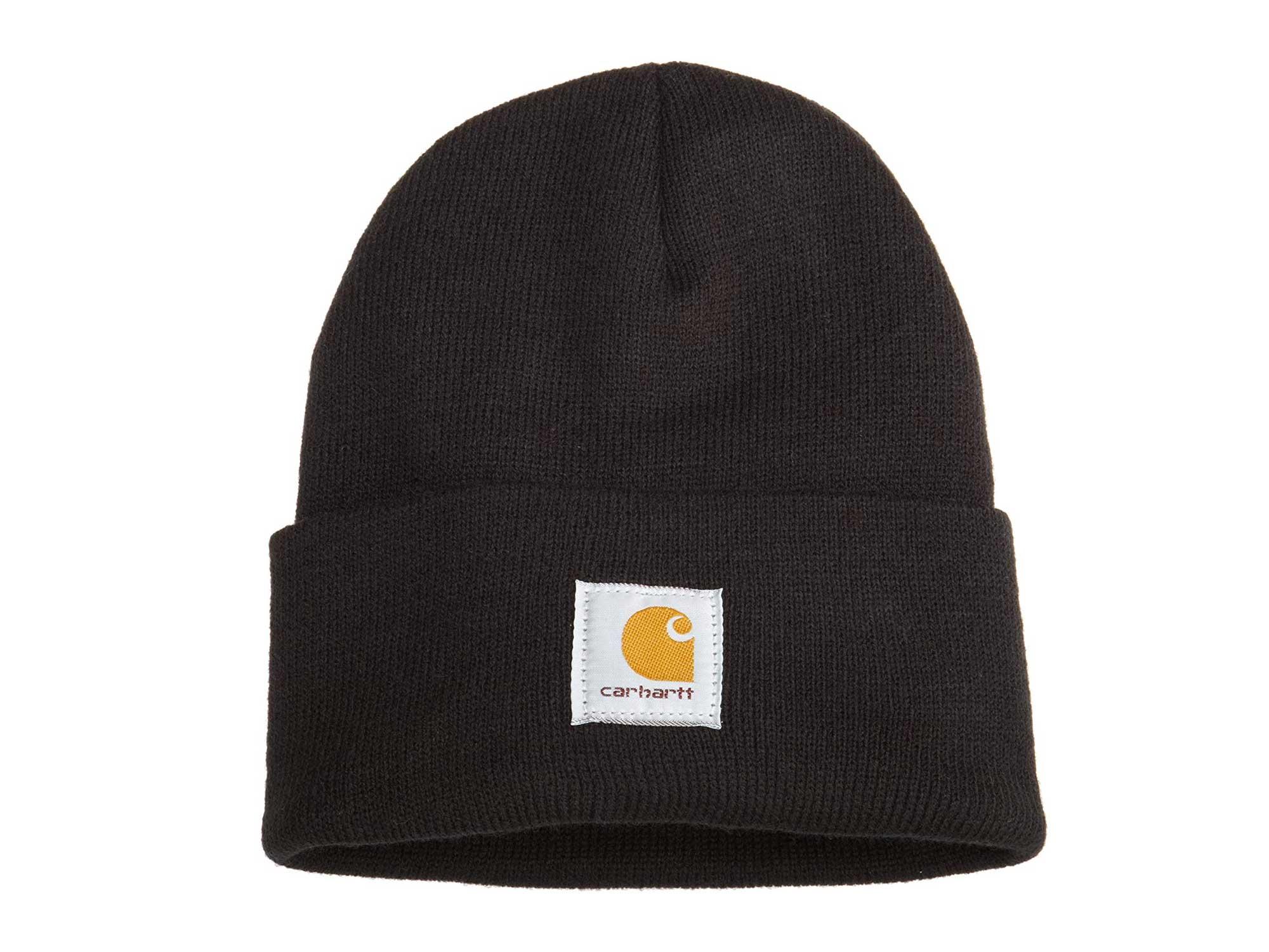 Black Carhartt beanie cap