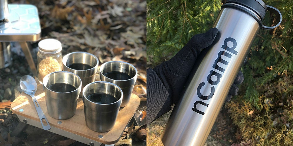 Don't get stuck on the trail without the nCamp Coffee Kit