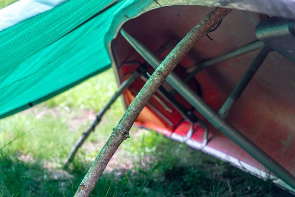 equinox tarp outdoor shelter