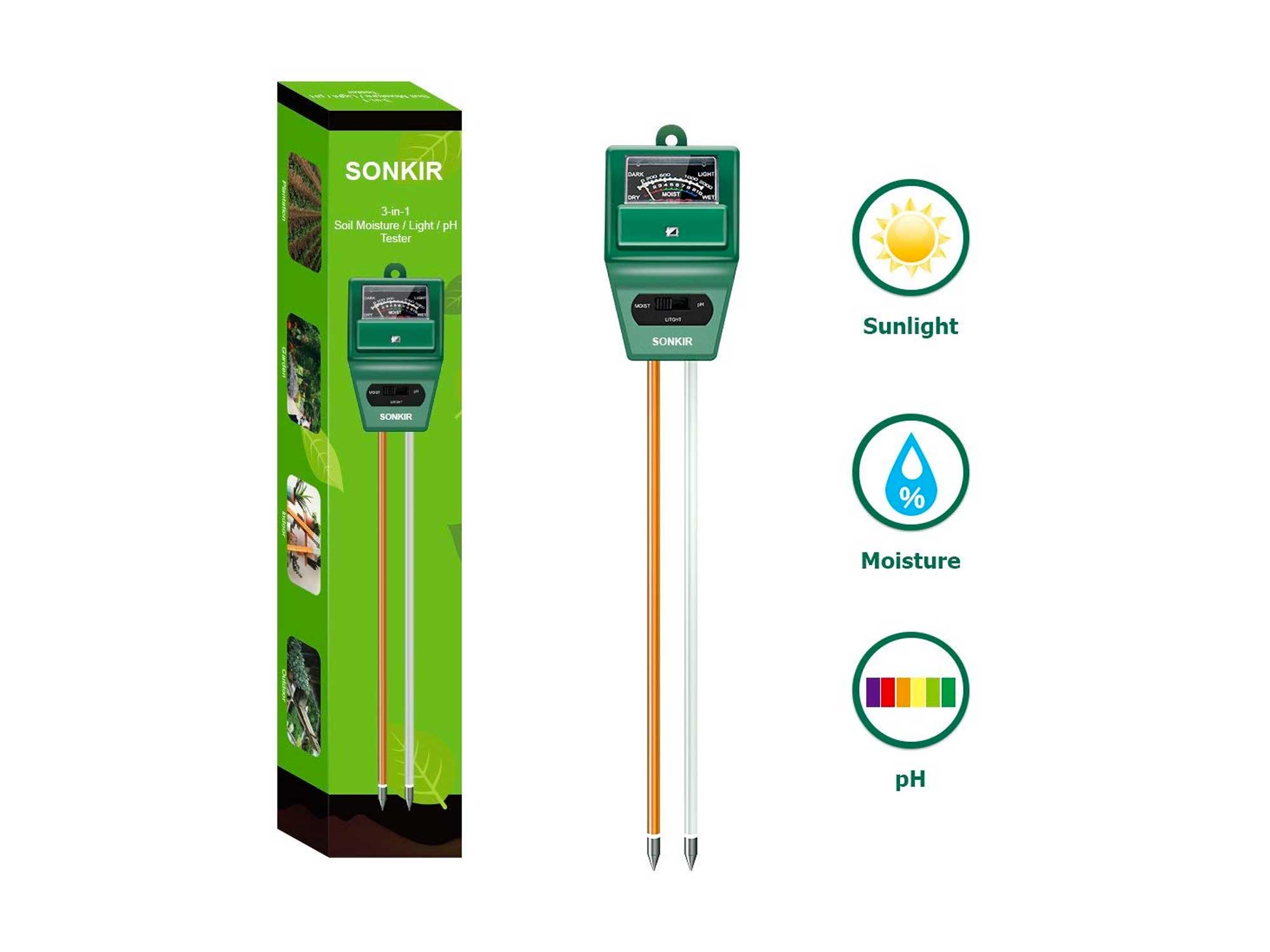 Sonkir soil meter