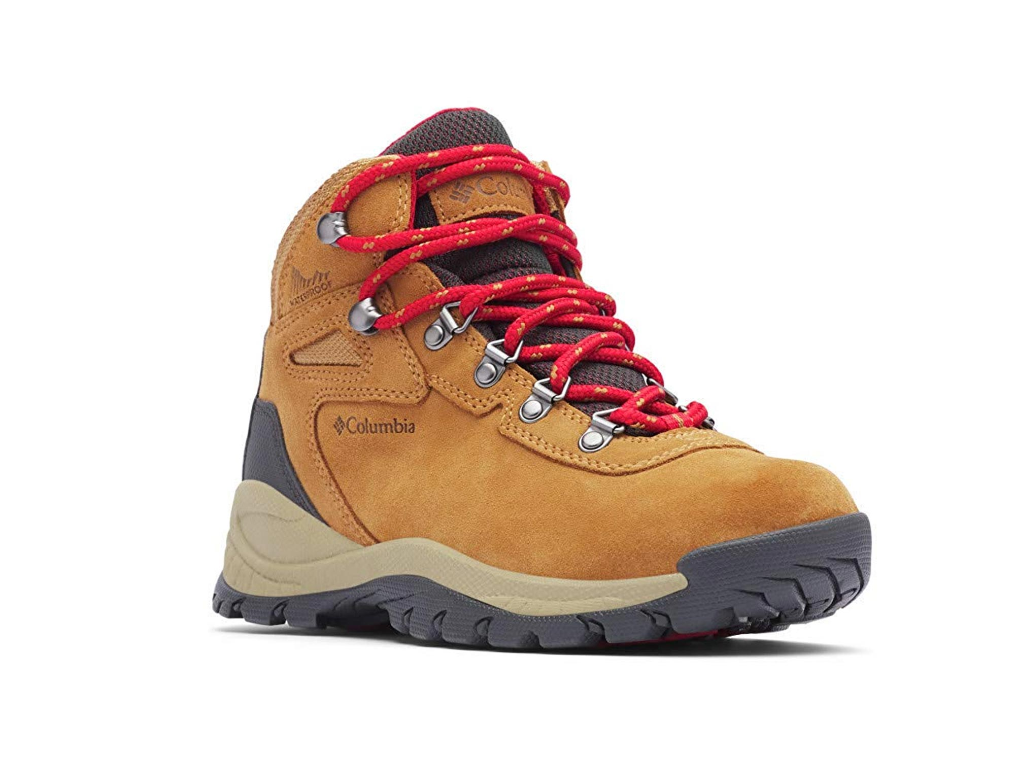 Columbia Womens Newton Ridge Plus Waterproof Amped Boot, Ankle Support, High-Traction Grip