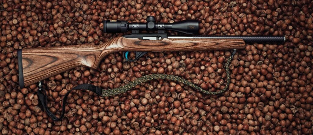 A good example of a squirrel hunting rifle.