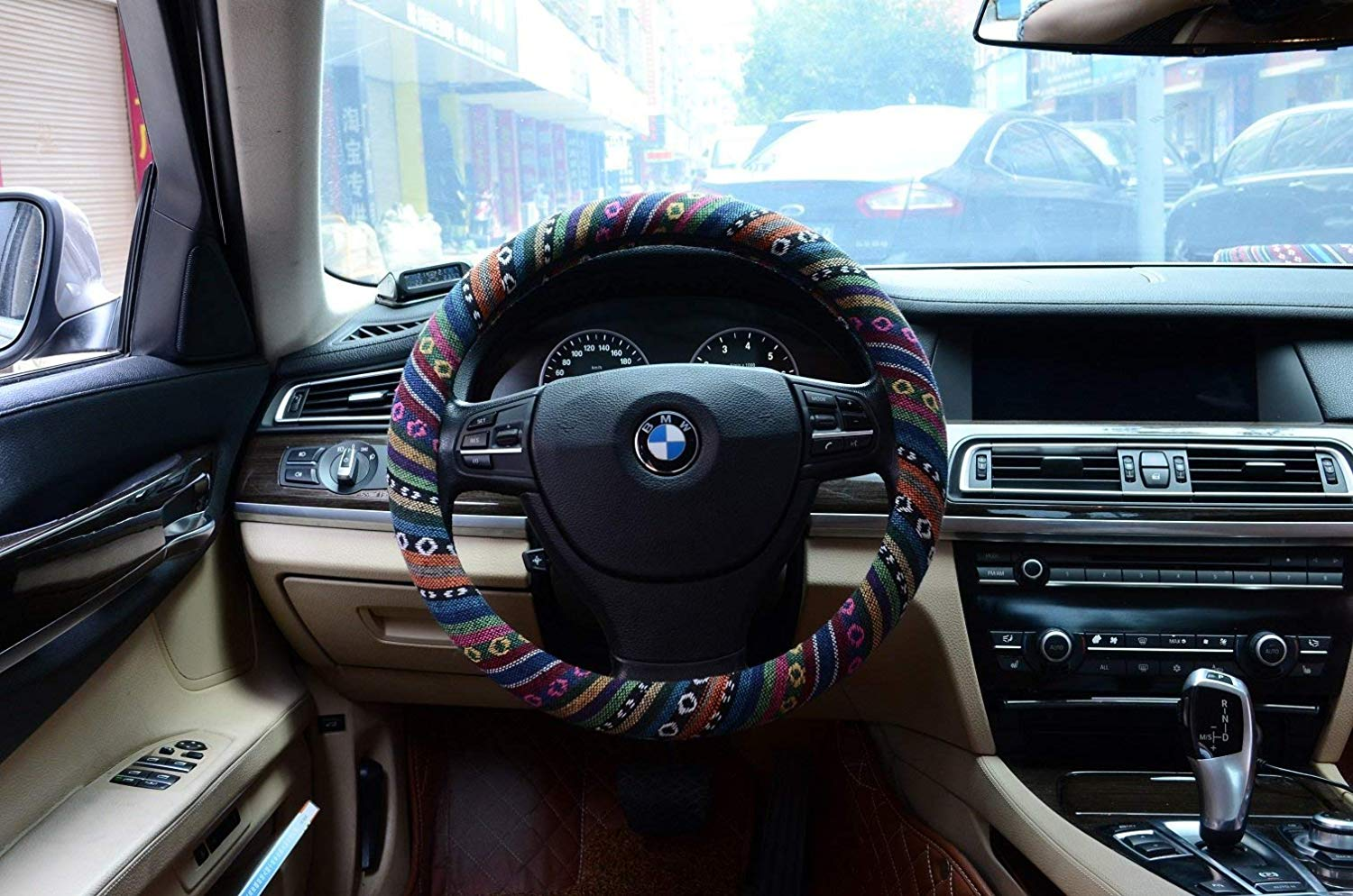 Cloth steering wheel covers can protect your skin