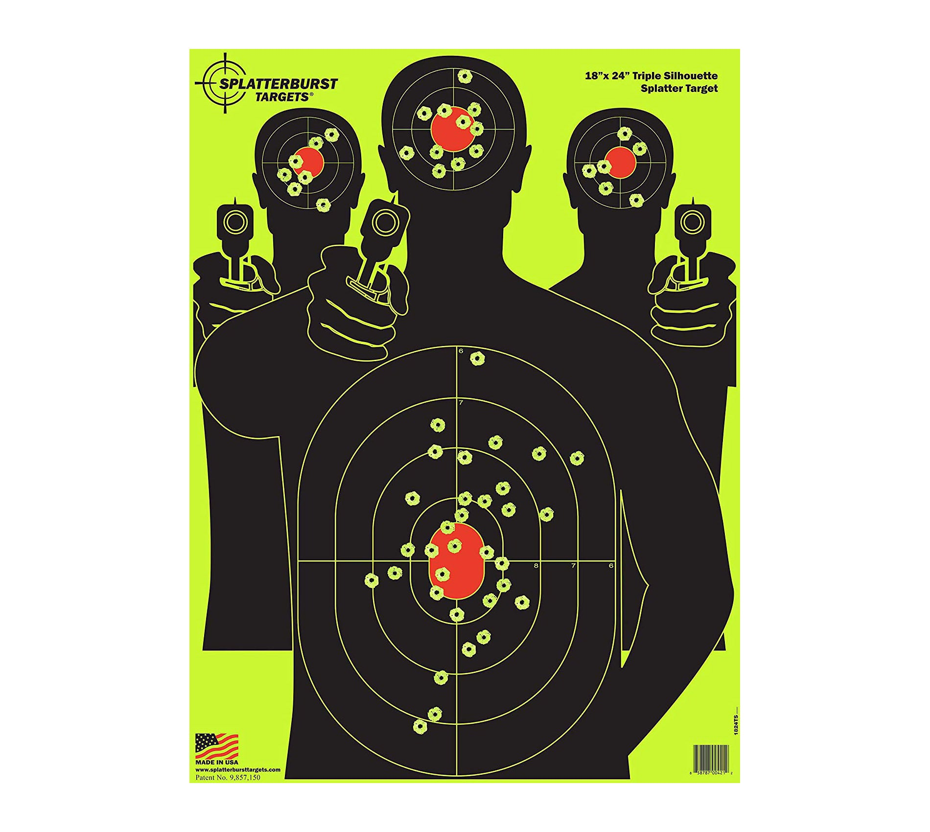 Splatterburst Targets - 18 x 24 inch