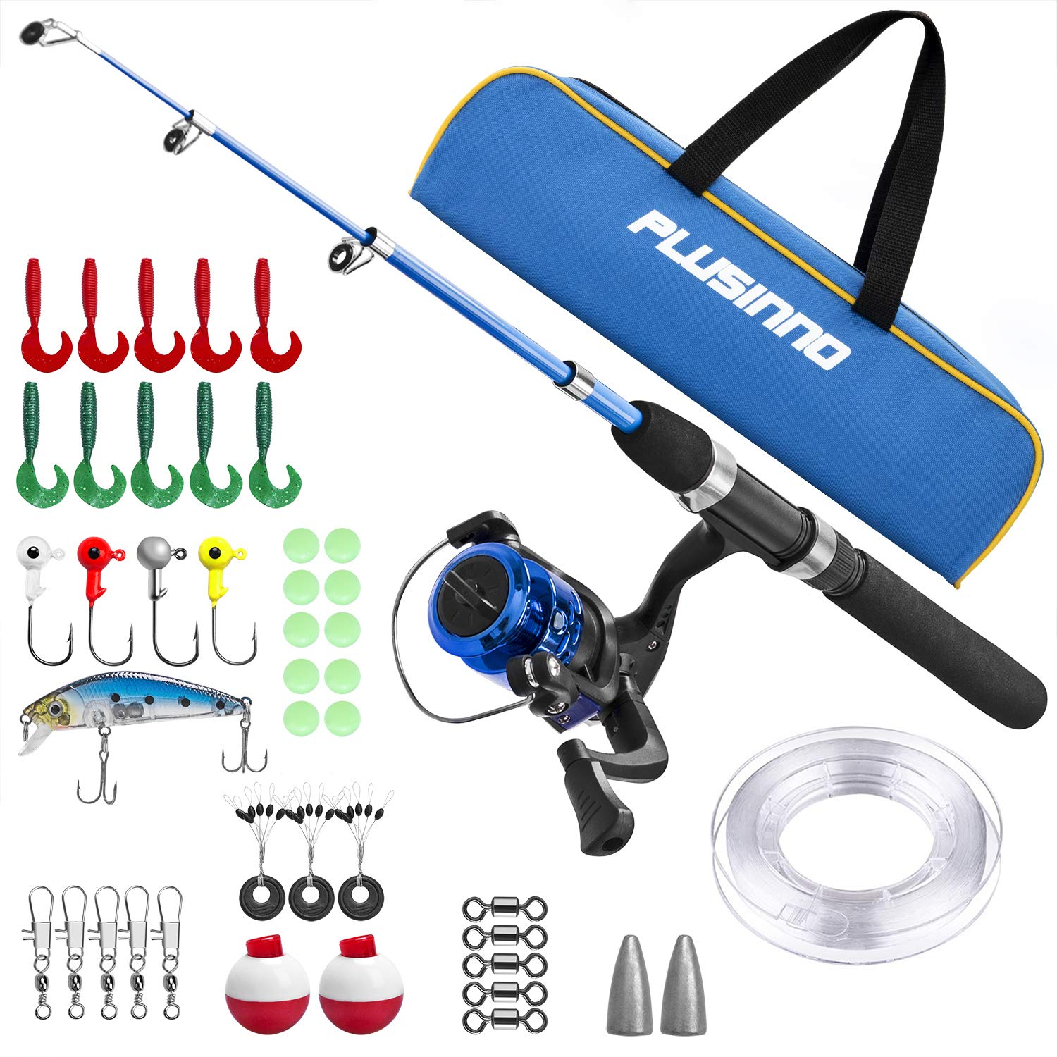 Portable Telescopic Fishing Rod and Combination Reel
