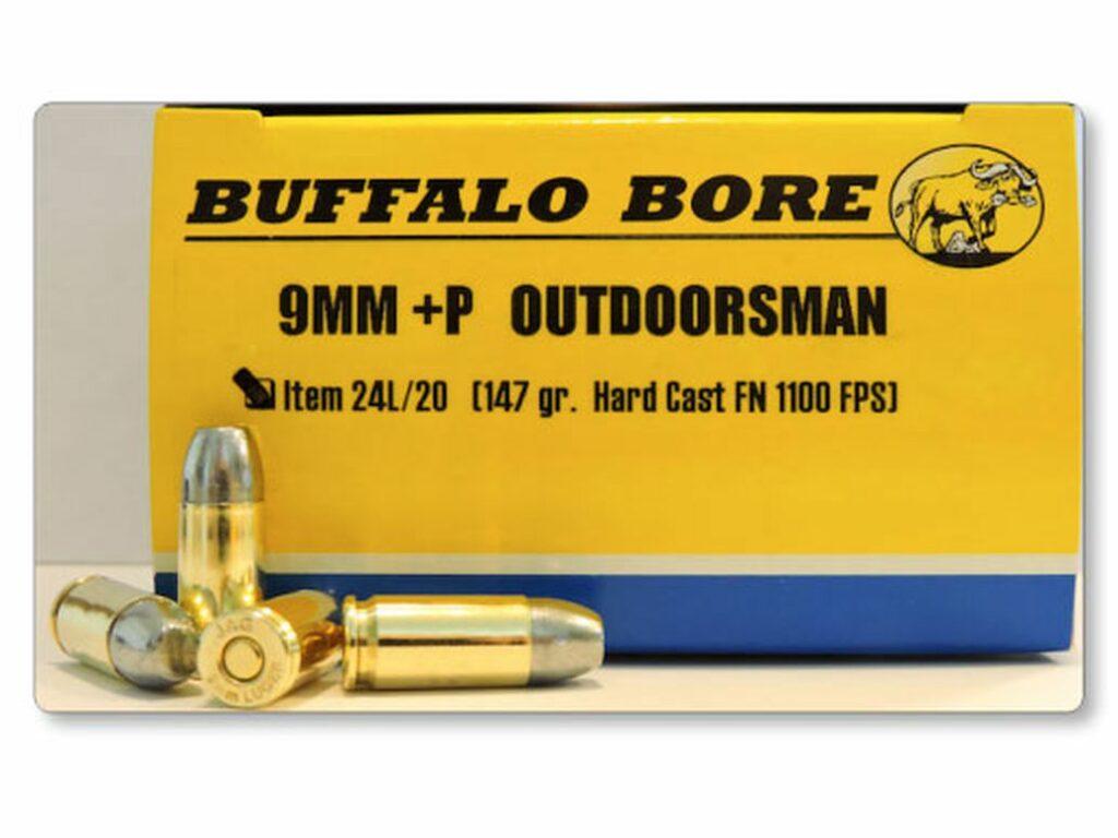 Buffalo Bore ammo.