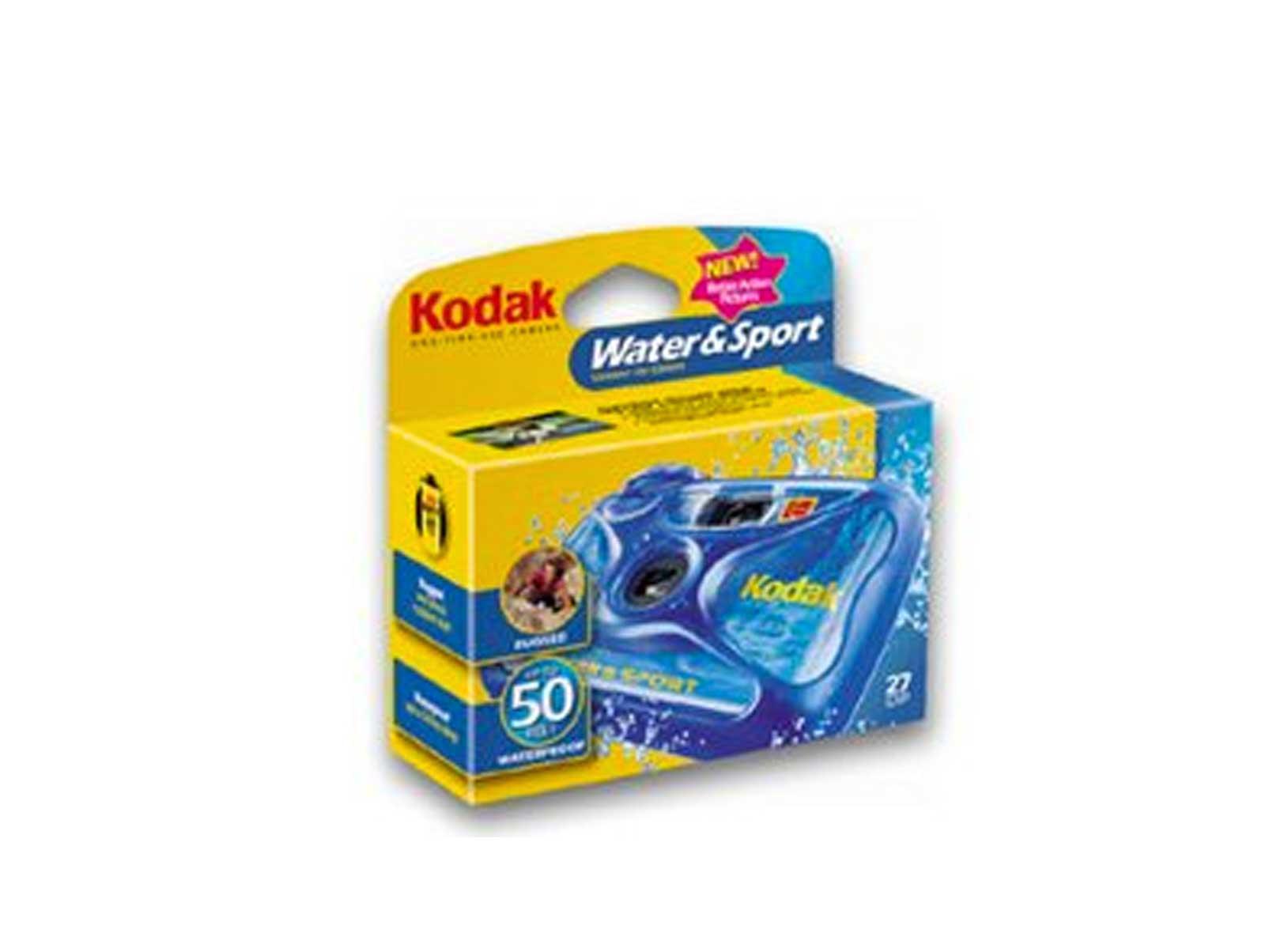 Kodak underwater camera