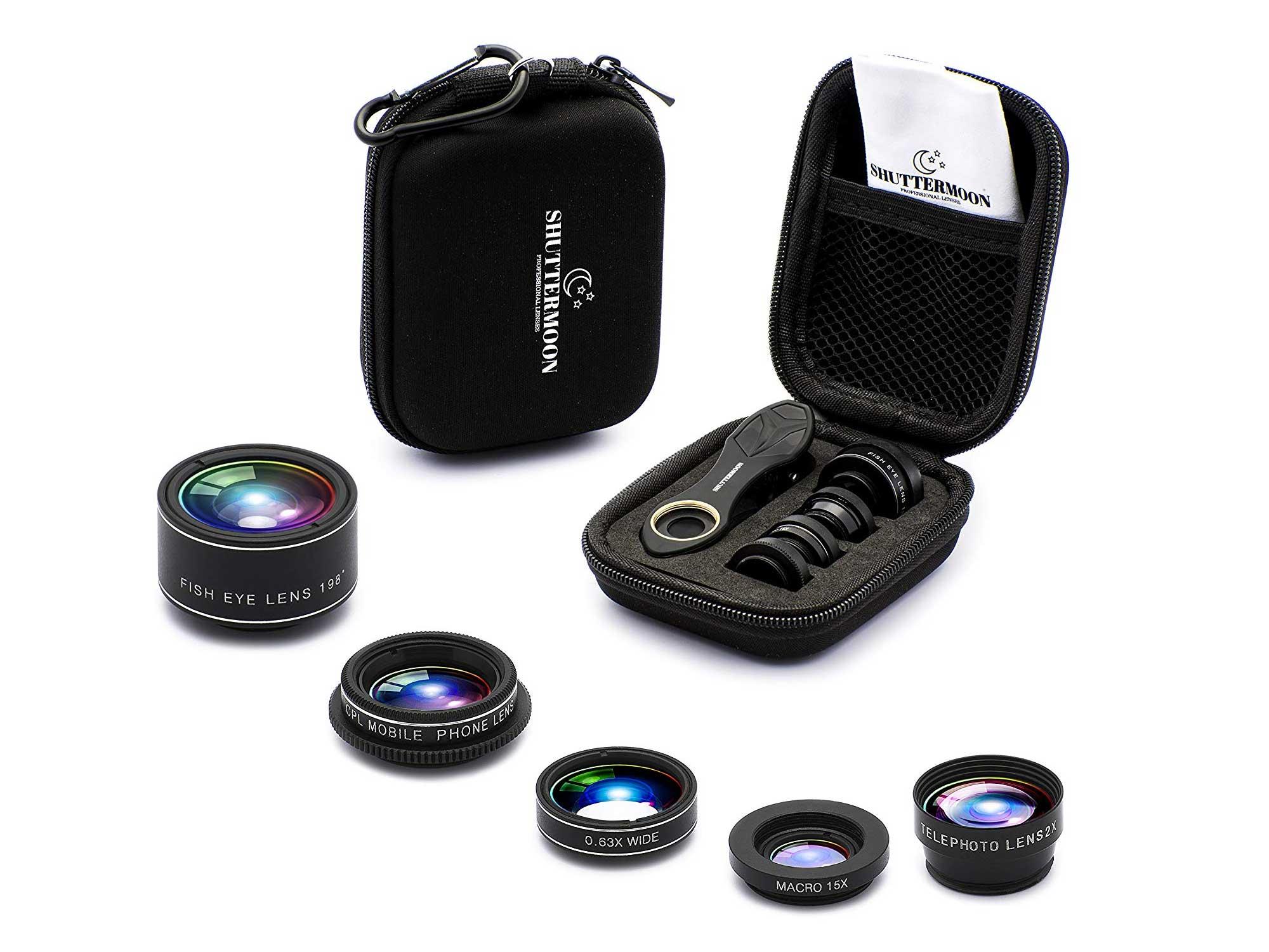 Shuttermoon smartphone lens