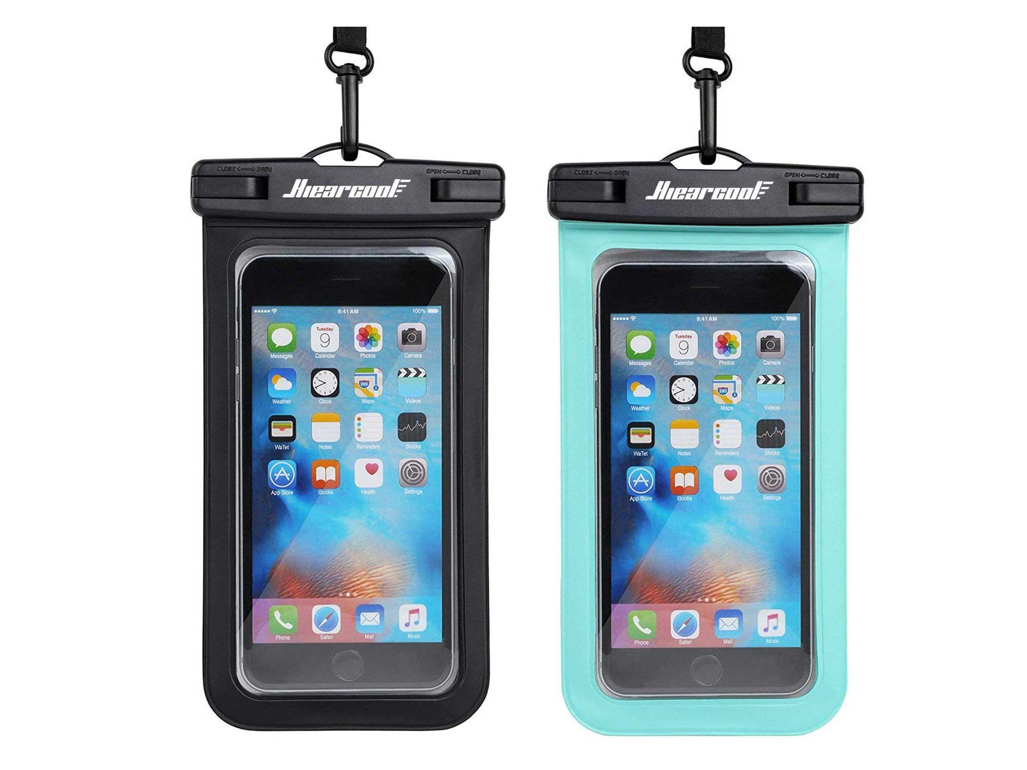 Hiearcool Universal Waterproof Case,Waterproof Phone Pouch