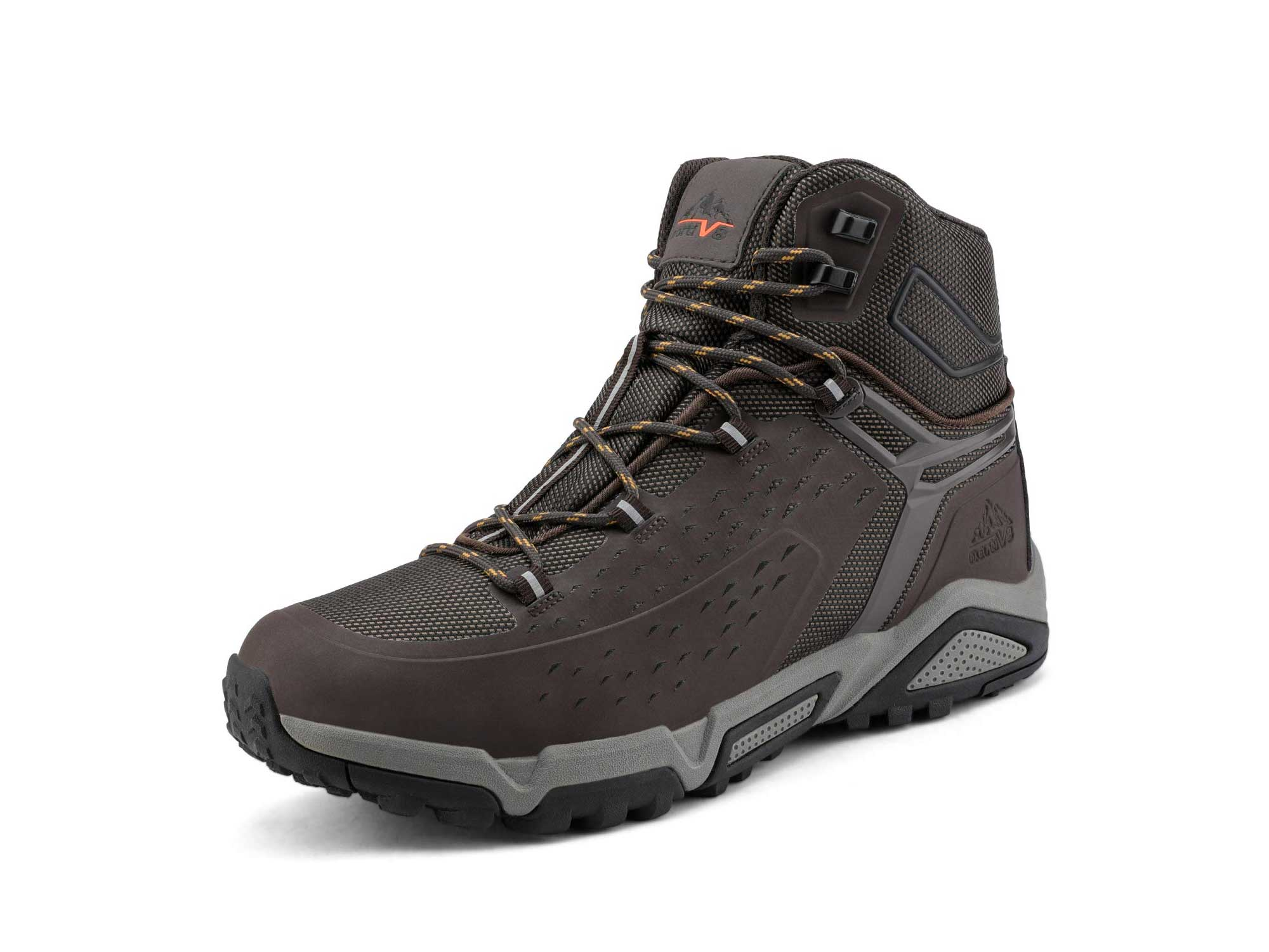Nortiv waterproof hiking boot with rubber toe cap