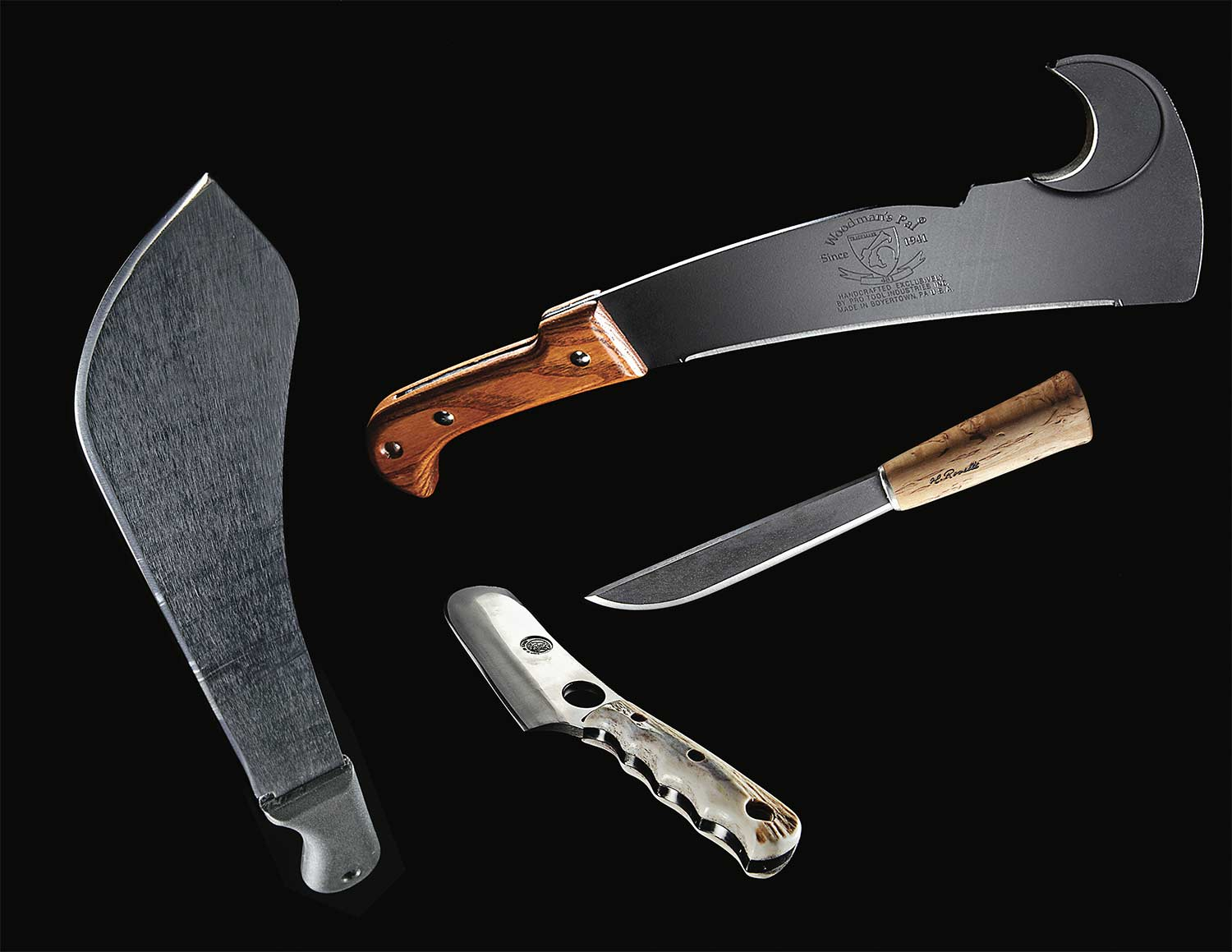 4 Wickedly Big Knives for Survival, Butchering, and Bushwhacking