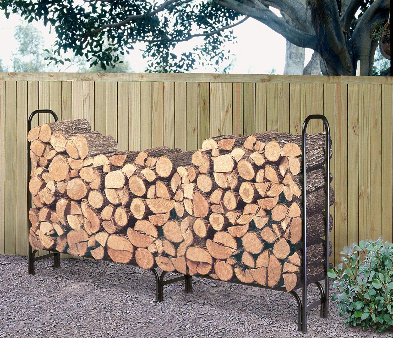 Landmann 8-Foot Firewood Log Rack