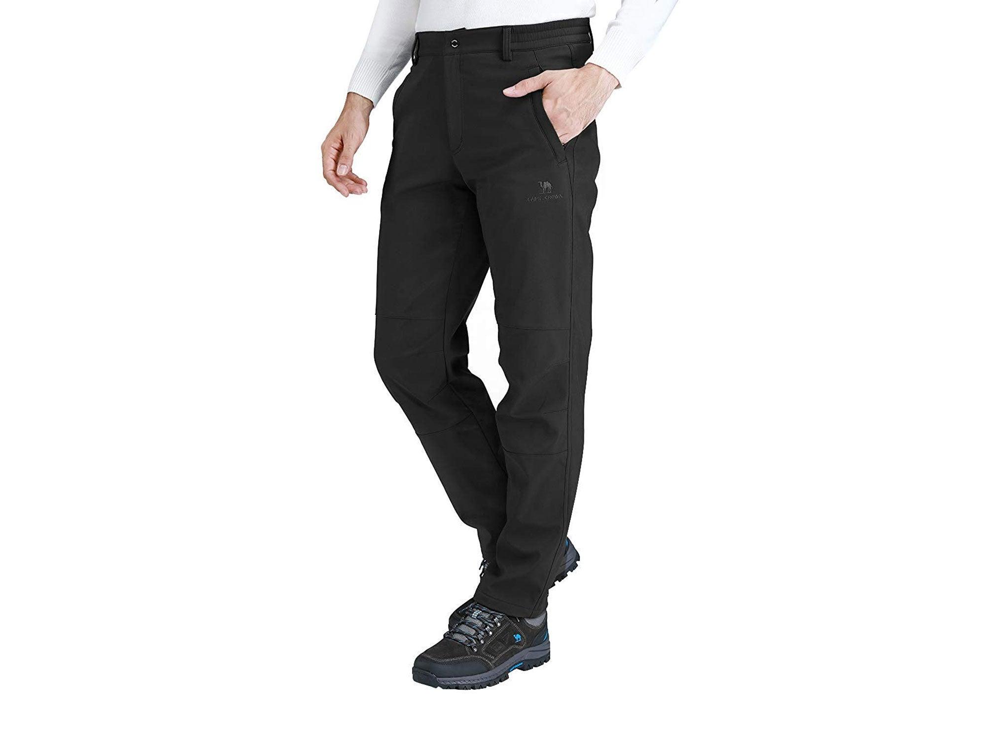 Fleece windproof pants
