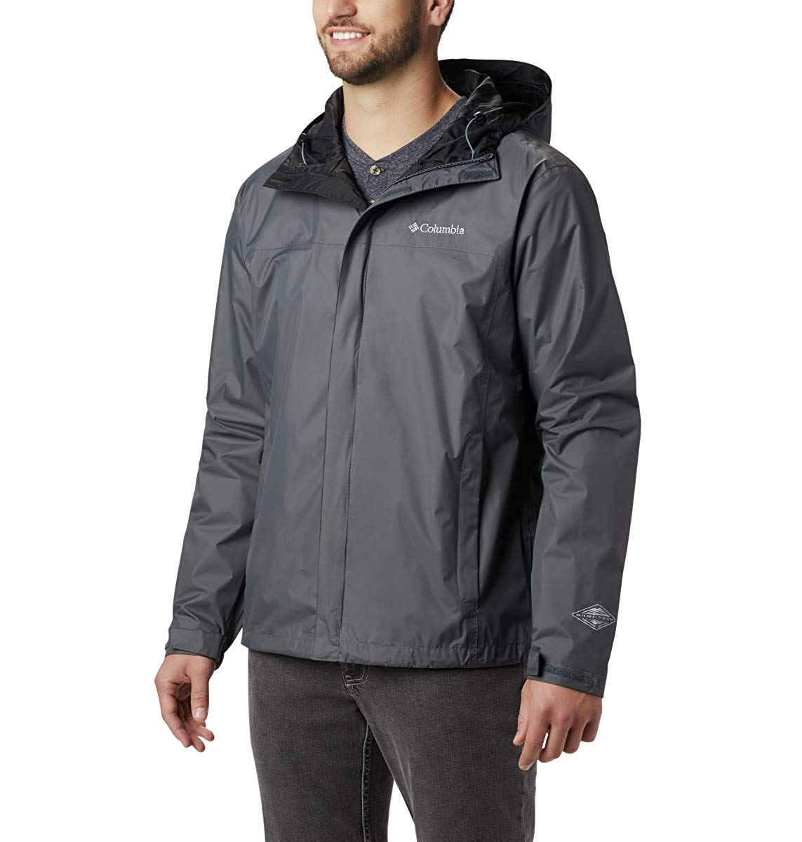 Columbia Watertight II Front-Zip Hooded Rain Jacket