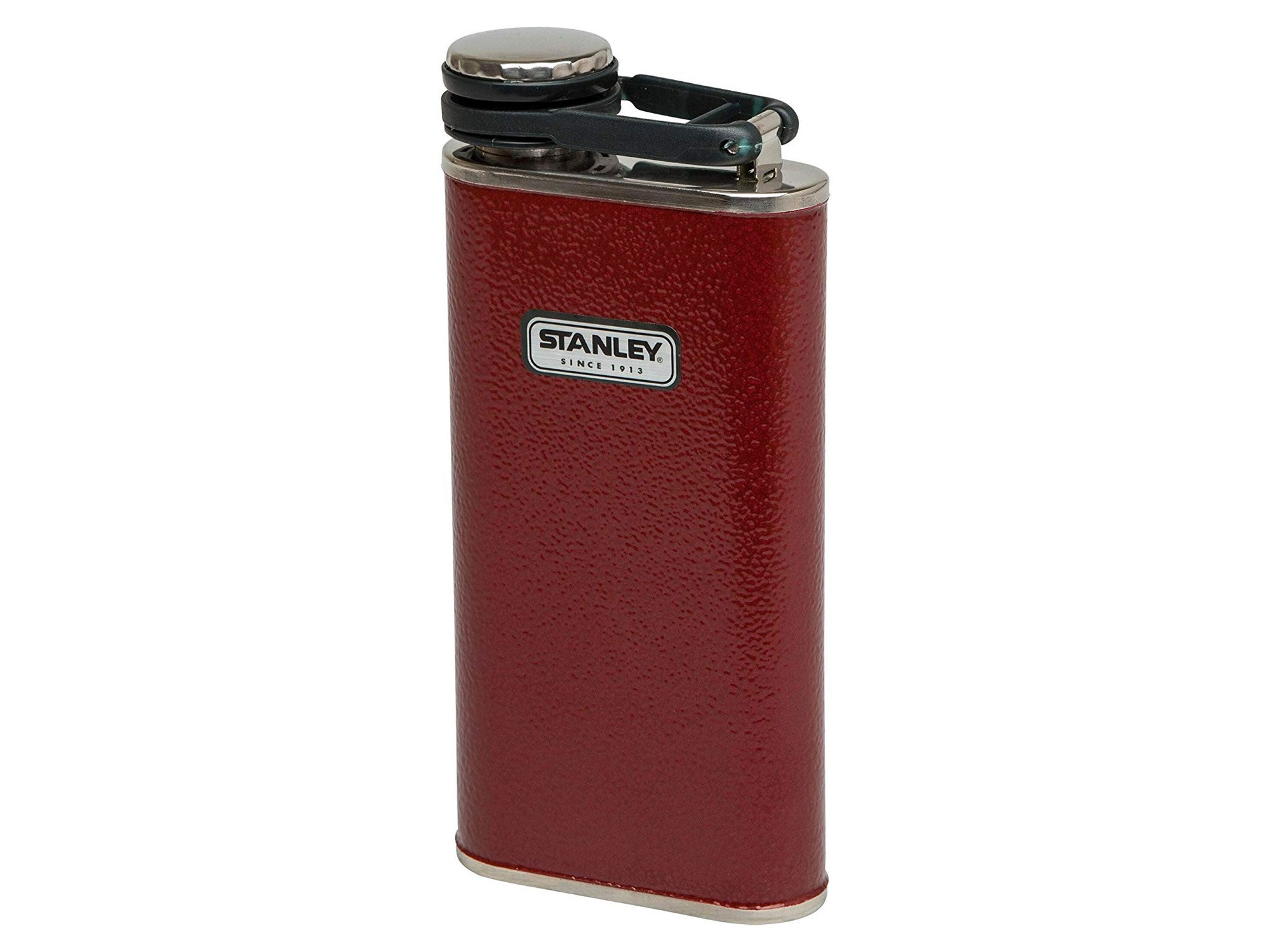 Red Stanley flask