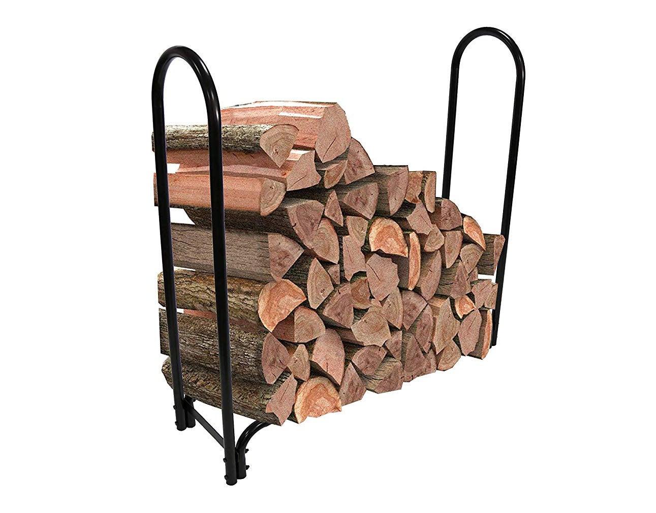 AmazonBasics Outdoor Indoor Log Rack