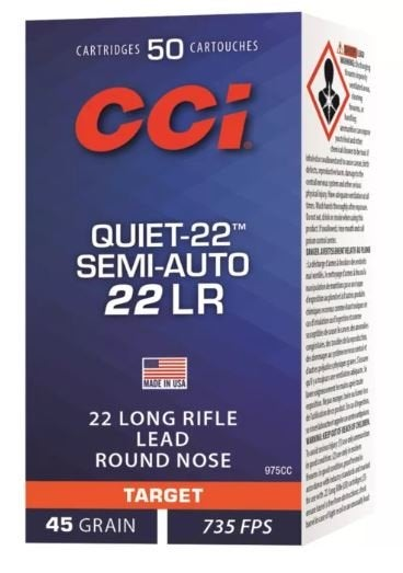 CCI Quiet 22 Semi-Auto