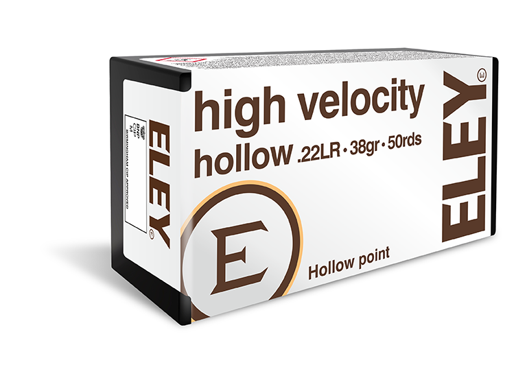 Eley High Velocity Hollow Points