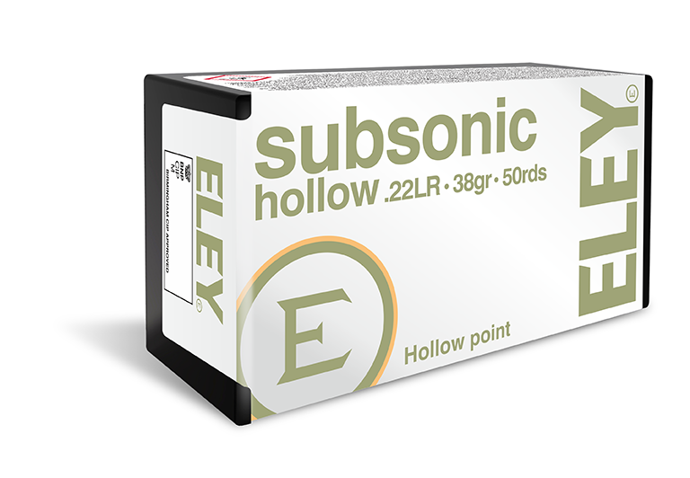 Eley Sub Sonic Hollow Points