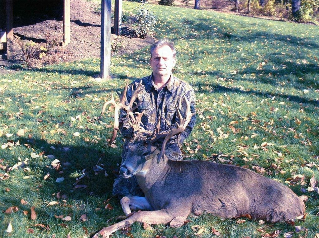 Gerald Simkonis' Pennsy non-typical buck