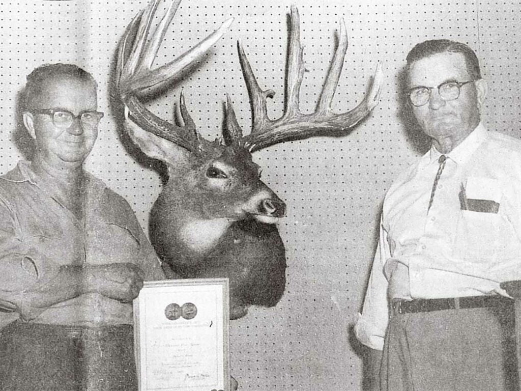 John Breen's trophy buck