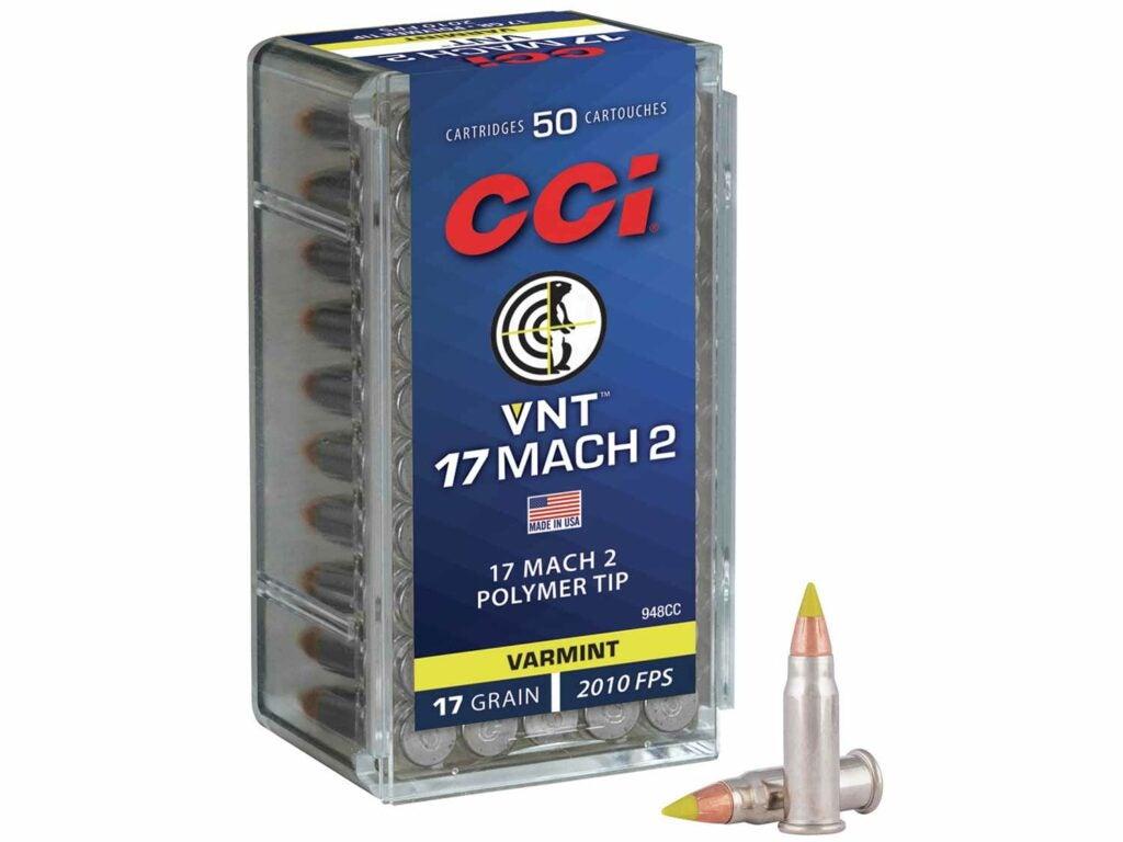 CCI VNT in 17 Mach 2