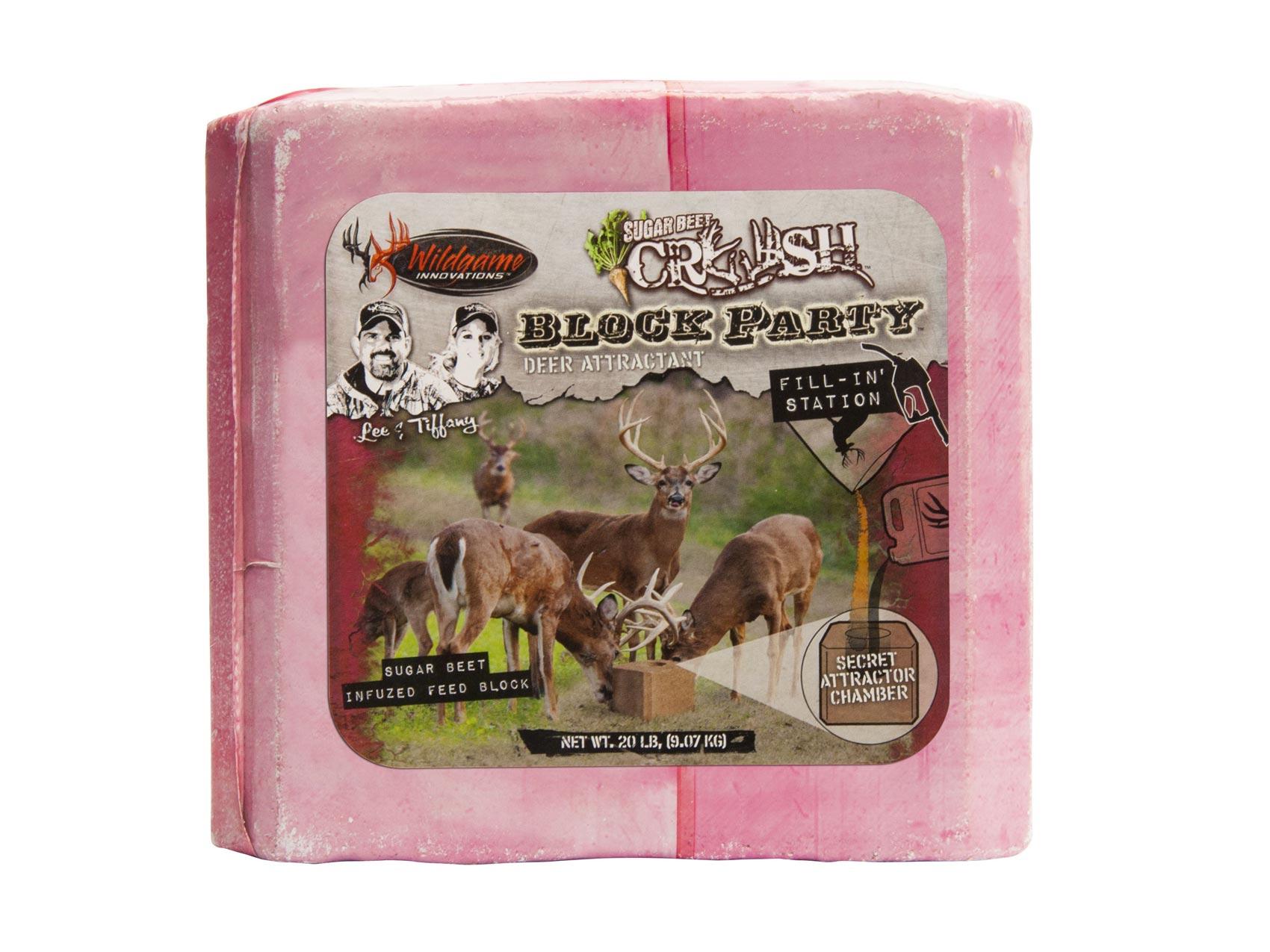 Deer block sugar beet deer feed