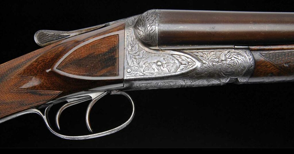 HE Grade Super Fox shotgun named Bo Whoop used by Nash buckingham