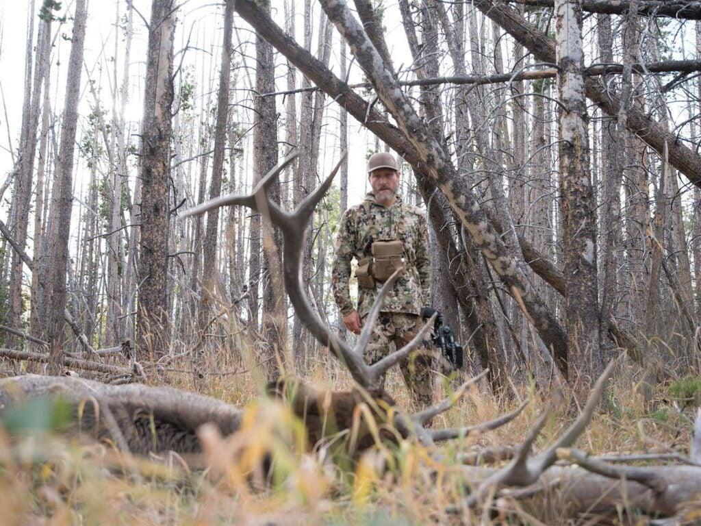 Tim Kent hunting bull elk