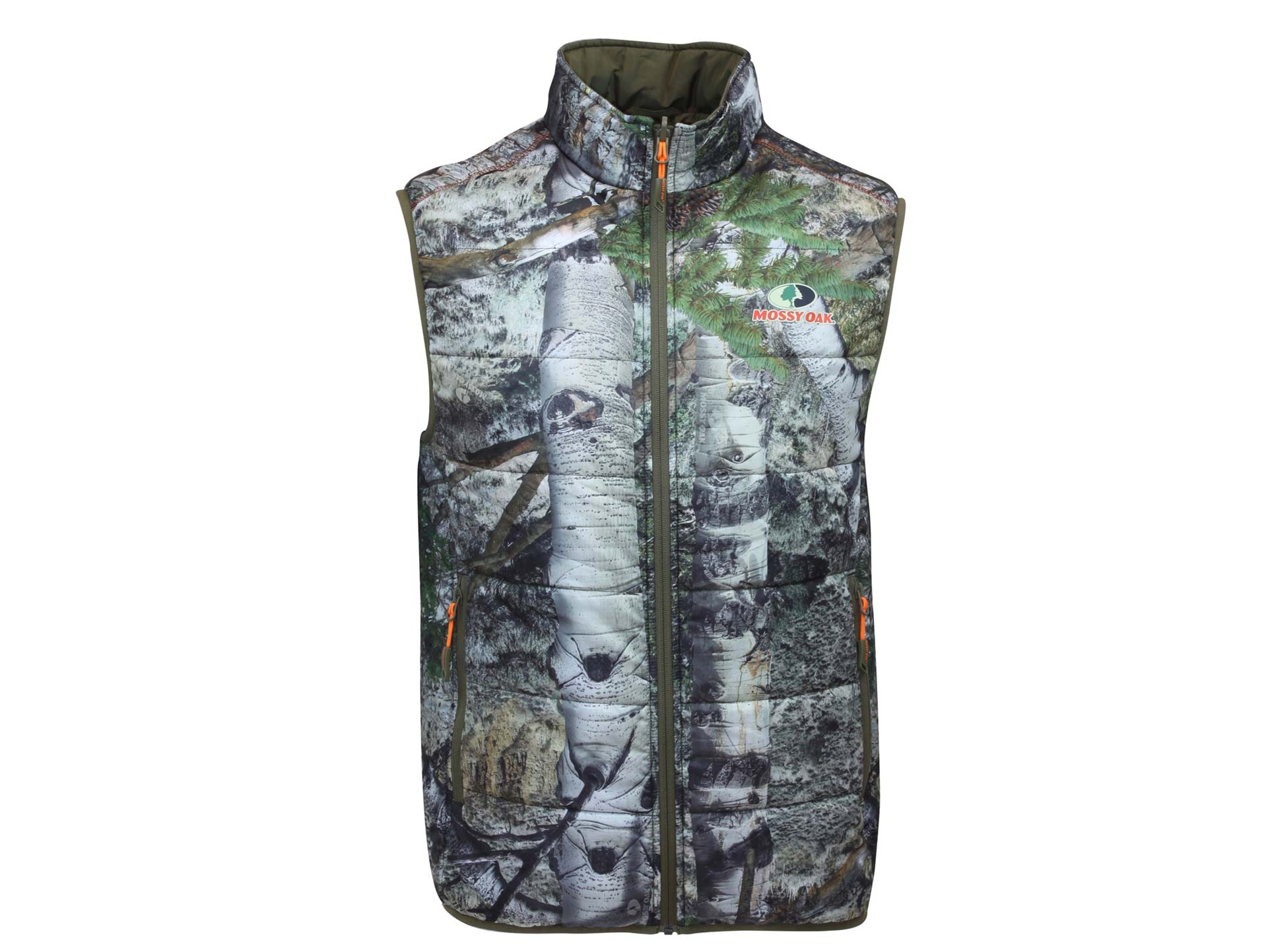 Camouflaged vest from Mossy Oak
