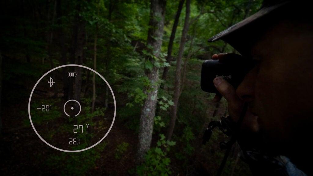 bushnell range finder scope